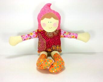 Troll Baby Doll Gnome Tomte Cuddle Plush Waldrof Ethnic Stuffed Toy Doll Collectible