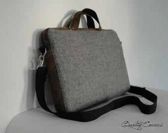 Customizable for Color Fabric and Sizes Laptop Bag -Messenger bag-Detachable STRAP-fully PADDED bag-Waterproof lining