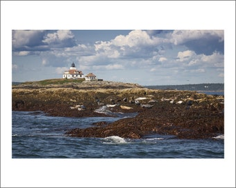 Egg Rock Lighthouse - Maine - Color Photo Print - Fine Art Photography (LM16)