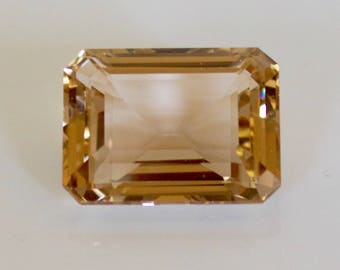58 ct. Beautiful Cognac Topaz Loose Gemstone.