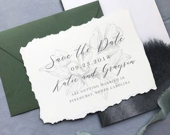 Save the Date - Southern Magnolia