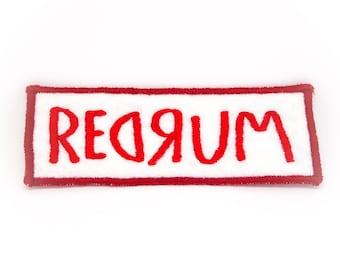 Redrum Handmade Patch