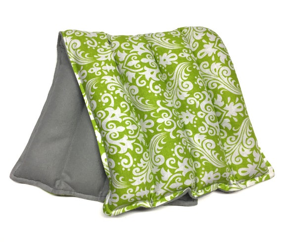 Rice heating pad LARGE heat therapy rice bag, doula bag, cold therapy, flax seed, aromatherapy