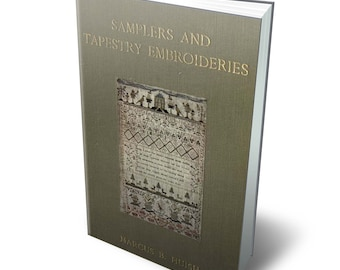 Vintage ebook 1913s. Samplers & tapestry embroideries.