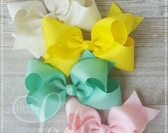 Camp MJC Release 2- Made to Match Matilda Jane-Hair-bow bundle-bows for babies- hair-bows for little girls-custom hair-bows- boutique bows--