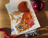 Red Squirrel & Baubles Ch...
