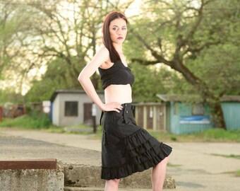 Black skirt - Zwarte rok