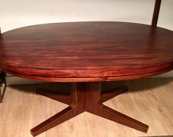Dyrlund Flip-Flap Rosewod Dining Table