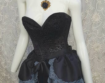 COSPLAY  Bustle  Organza GOTHIC BEAUTY