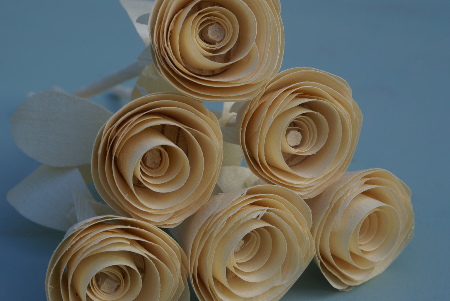 wooden roses 5 year anniversary