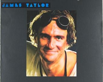 James Taylor Dad Loves His Work 1981 Pop Rock Original Vintage Vinyl Record Album LP