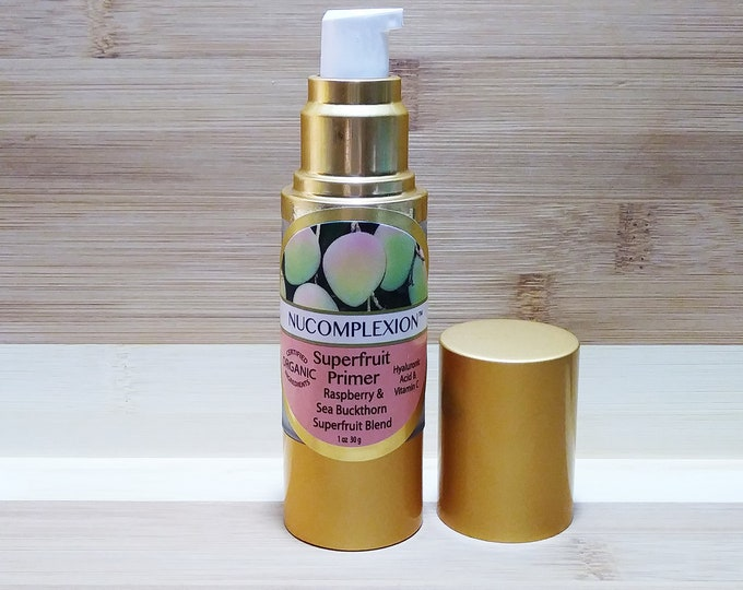 Superfruit (TM) Primer, Pre-Foundation, Vitamin Infused, Antioxidant Primer  (Translucent Glow)  Instantly Smooth & Taut Complexion  30 mL