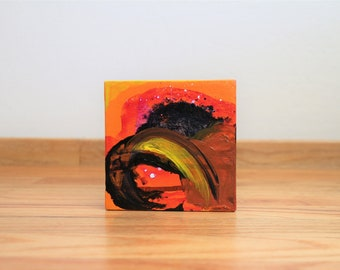 Abstract Painting - Small Works - Rage 1