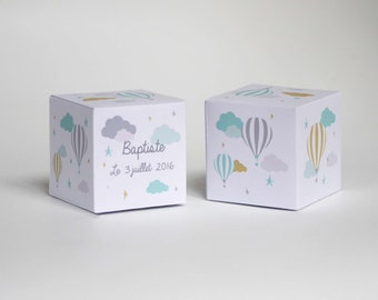 12 paper boxes to personalize