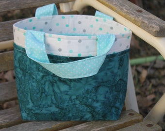 Small DrawString Tote