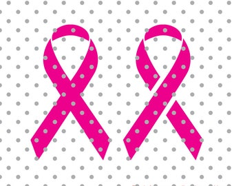 Cancer RibbonSVG, Cancer Survivor, Awareness Ribbon SVG,