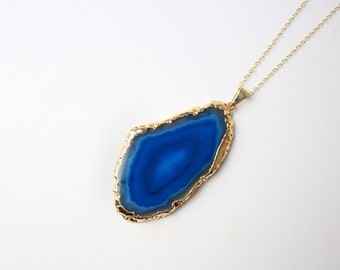 Agate Tide Necklace - 14k Gold Filled