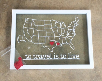 Build Your Own Travel Map: US Edition