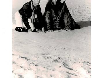 Ishtar - 1986 - b&w movie still