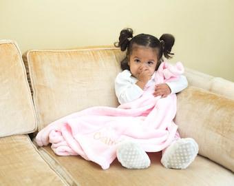 Plush Baby Blanket, Baby Blanket, Plush Blanket, Personalized Baby Blanket, Personalized Baby, Personalized Blanket, Baby Gift, Baby Shower