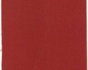 Deep Red , Burgundy 14 count Aida from Zweigart 55 x 50 cms, aida for cross stitch, 14 count cross stitch fabric, blue aida