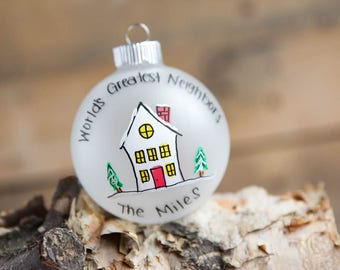Neighbor Christmas Ornament - Personalized for Free