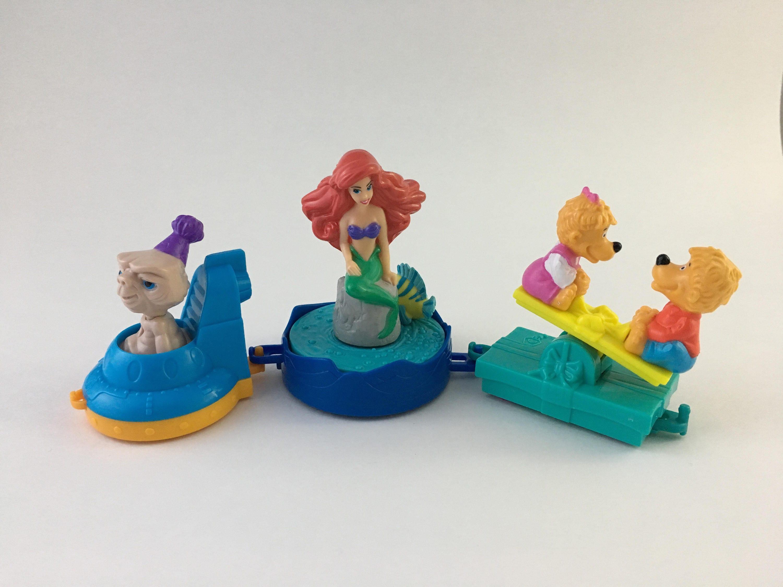 1994 McDonalds Happy Meal Birthday train toys 90s Happy Meal