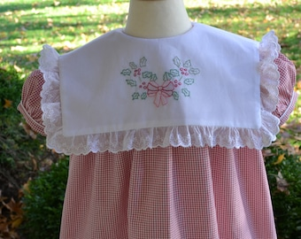 READY-TO-GO! Holly & Berries Christmas dress, size 3T
