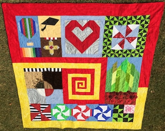 The Yellow Brick Road: A Storybook Quilt (Pattern)
