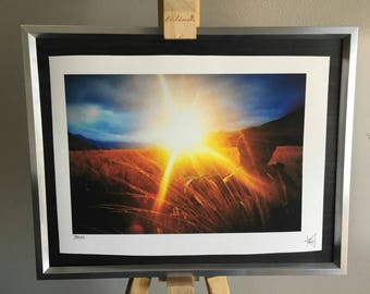 Bask: a4 giclee photography print. Limted edition, taken at Arthur's pass New Zealand