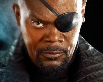 RESERVED - Nick Fury Facial Hairpiece
