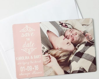 Save the Date - Postcard, Magnet, or Card