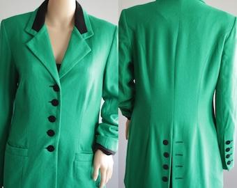 SALE -Fantastic 90s St-Patricks Green Blazer