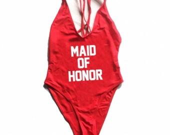 New! Cross back suit- maid of honor- swimsuit- Bathing suit, swim suit, one piece-