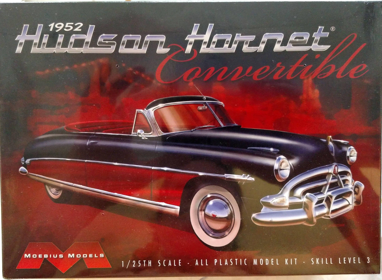 Moebius Models 1952 Hudson Hornet Convertible 1 25 Scale Model