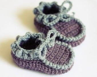 Crochet PATTERN - Everyday Baby Moccasins