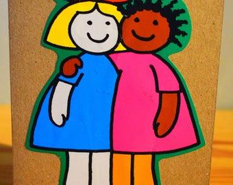 Girl Friends Card