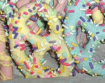 Easter pretzels fun and beautiful.