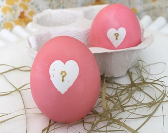 Gender reveal eggs