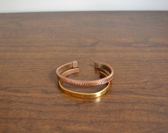 20% OFF SALE Two Vintage Bangles