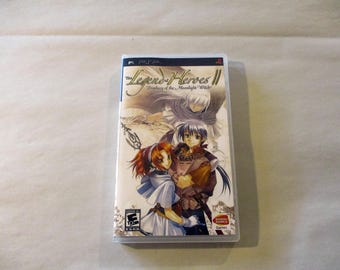 Legend of Heroes II, The: Prophecy of the Moonlight Witch Custom PSP Case (***No Game***)