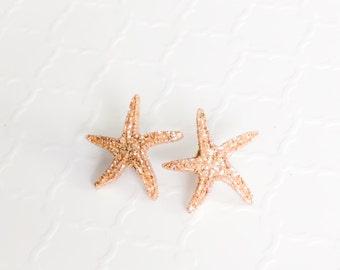 Starfish earrings Etsy