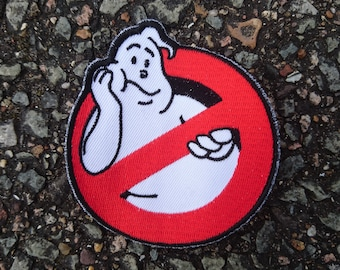 """Real Ghostbusters """"Bored"""" Logo Embroidered Patch"""