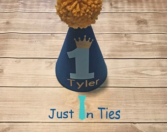 Little Prince First Birthday Personalized Hat