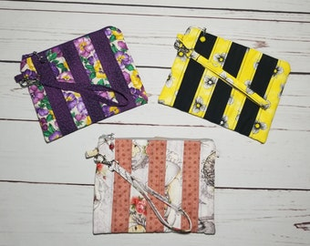 Quilted Clutch Bag/ Quilted/Clutch/Bag/Wristlet