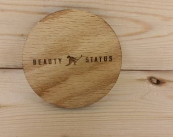 Custom Laser Cut Coasters - Set of 4