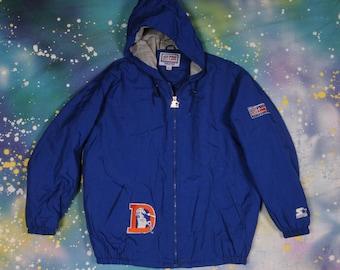 Denver BRONCOS Starter ProLine Jacket Size L
