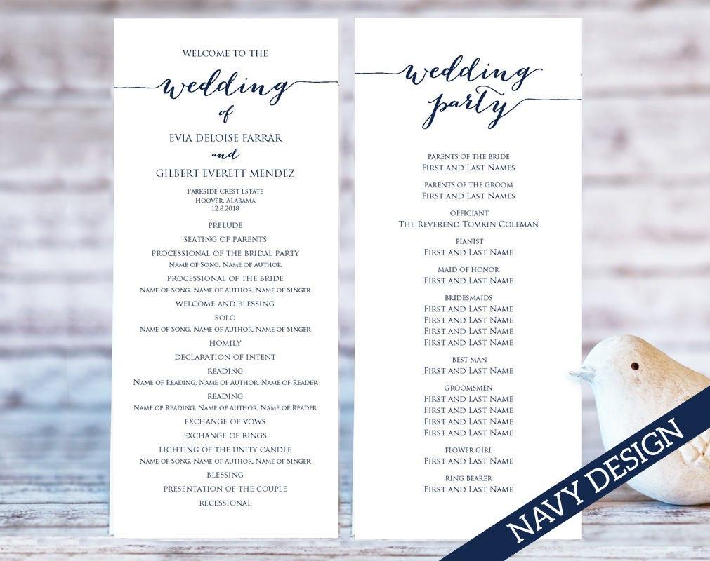 wedding ceremony program template sponsorship letter
