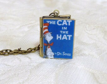 Cat in the Hat Story Locket