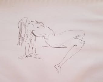 Original Graphite Drawing / Sketch